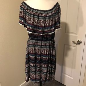 Rue+ Off Shoulder Dress